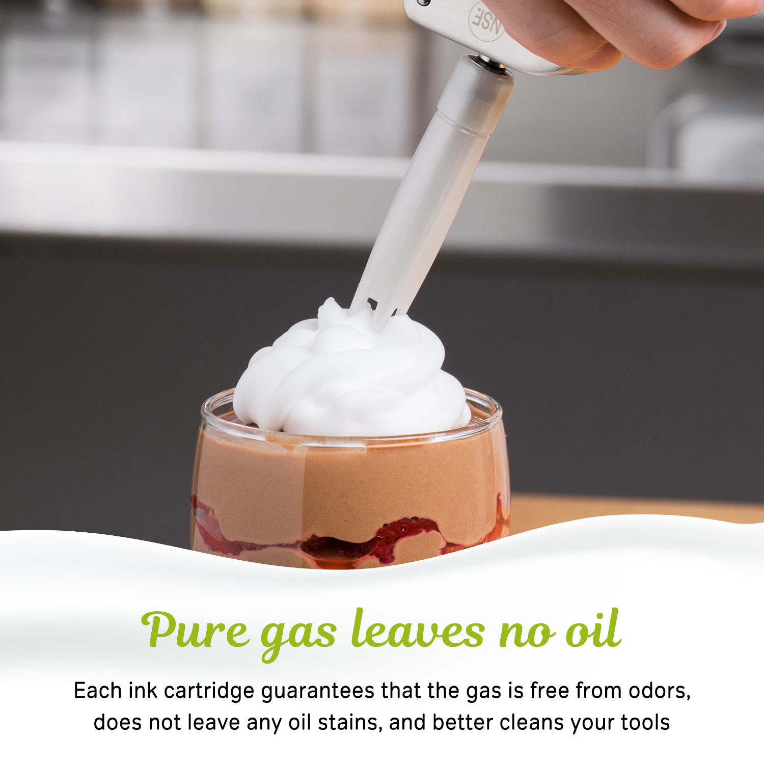 Wholesale N2O Gas Whipped Cream Chargers